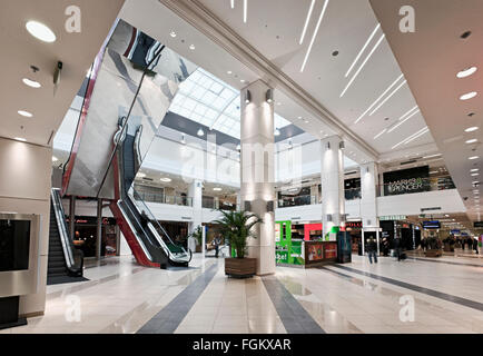 Shopping mall Kristiine in Tallinn, Estonia - Stock Image