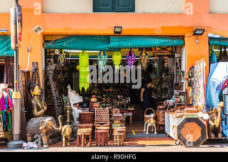 Little India, Singapore - Stock Image