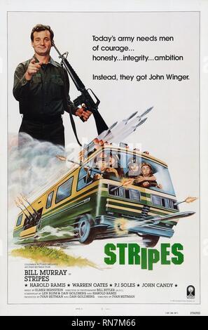 STRIPES, BILL MURRAY, 1981 - Stock Image