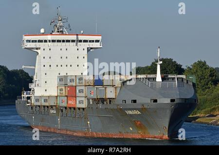 Containerfeeder Annaba - Stock Image