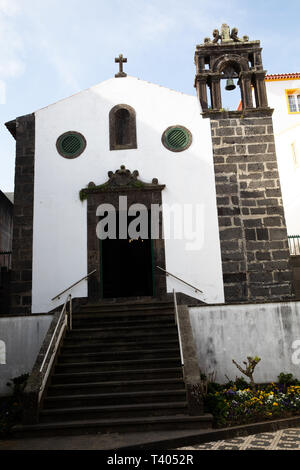 Capelas church in The Azores - Stock Image