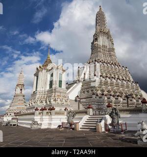 Wat Arun in Bangkok, Thailand. - Stock Image