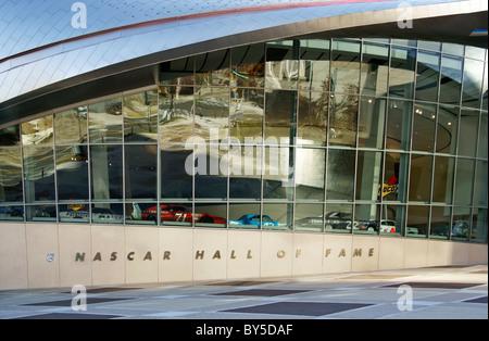 NASCAR Hall of Fame, Charlotte, North Carolina, NC - Stock Image