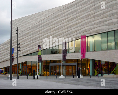 September 2011. The newly opened Liverpool Museum, Liverpool - Stock Image