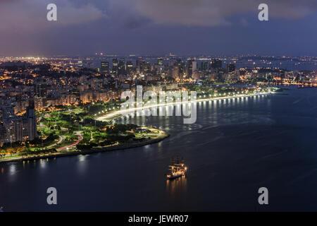 Praia do Flamengo - Stock Image