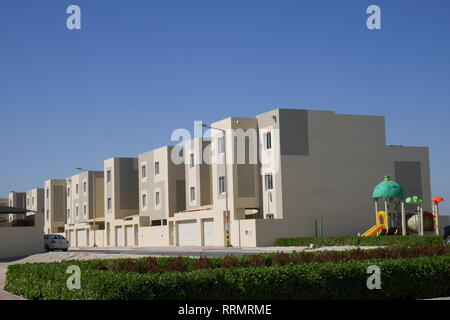 New housing development in Northern City, Northern City islands, Northern Governorate, Kingdom of Bahrain - Stock Image