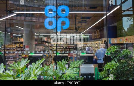 Co-Op Food, Sumner Street, London, SE1, UK - Stock Image