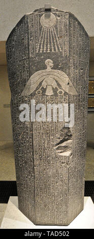 Egyptian hieroglyph table Altes Museum, Berlin - Stock Image