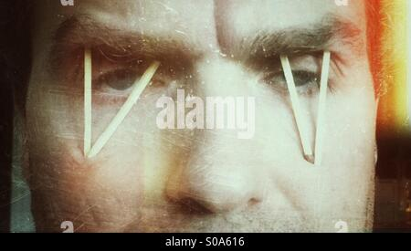 So tired - Stock Image