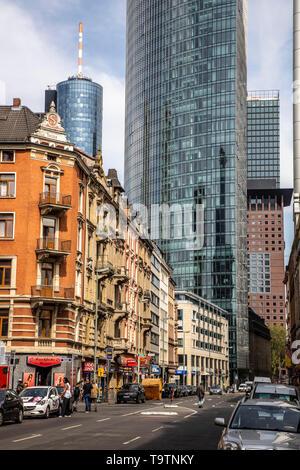 Frankfurt am Main, Main station district, Red Light District, Taunusstrasse, - Stock Image