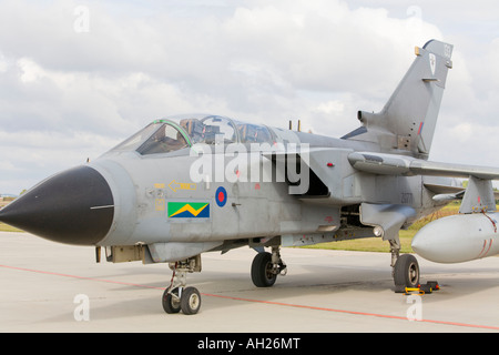 RAF Tornado aircraft parked during airshow in Brno 2007 - Stock Image