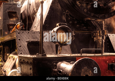 Steam locomotive - Stock Image