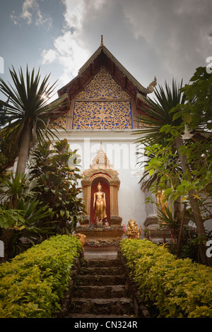 Wat Phrathat Doi Suthep temple, Chiang Mai, Thailand - Stock Image