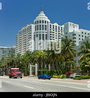 Loews Hotel Miami Beach - Stock Image