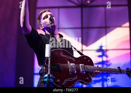 London, UK. 20th March 2019. George Ezra Live at The 02 Arena, Credit: Tom Rose/Alamy Live News - Stock Image