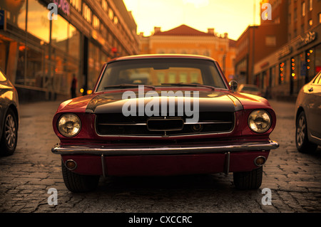 1968 Ford Mustang without mustang logo - Stock Image