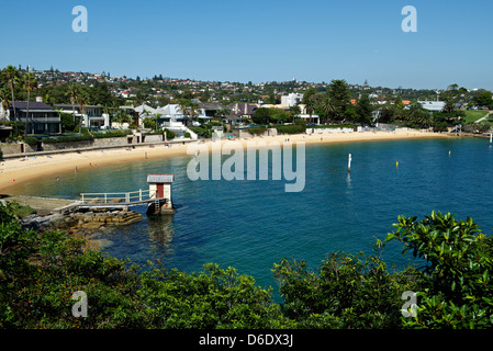 Camps Bay Sydney Harbour Australia - Stock Image