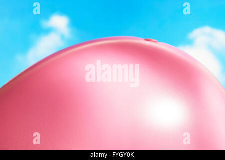 Ballooned Belly on Beach Obesity - Stock Image