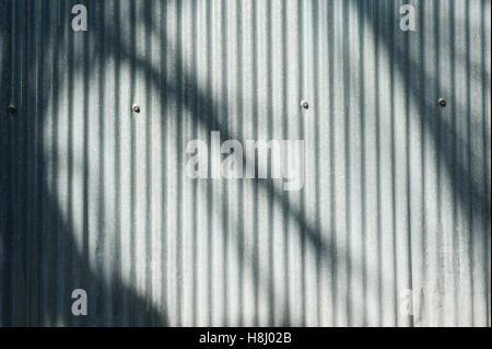 Metal galvanized steel texture background - Stock Image