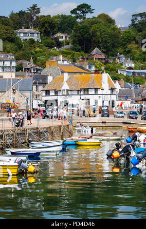 Lyme Regis harbour, Dorset, UK. - Stock Image