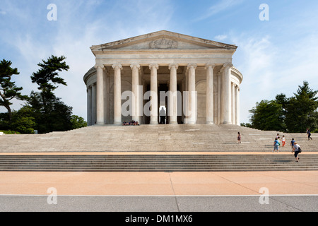 The Jefferson Memorial in Washington DC. - Stock Image