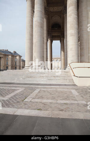 Part of Pantheon in Paris, France - Stock Image