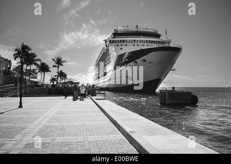 The Celebrity Constellation cruise ship docked at Key West in South Florida. - Stock Image