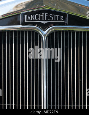 Lanchester Classic Car - Stock Image