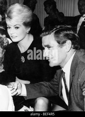 Swedish actress Anita Ekberg - Stock Image