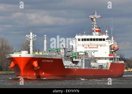 LPG Tanker Westminster - Stock Image