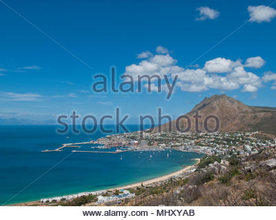 View Of Simons Town In Western Cape Region Of South Africa - Stock Image