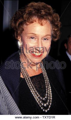 Jean Stapleton. 1990 Credit: 1763006Globe Photos/MediaPunch - Stock Image