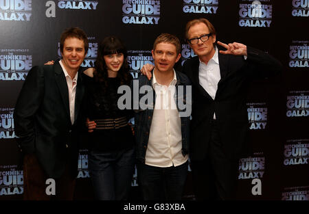 The Hitchhikers Guide to the Galaxy - Photocall - Dorchester Hotel - Stock Image