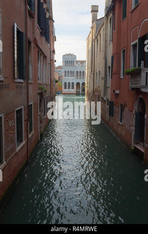 Canals in Venice - Stock Image