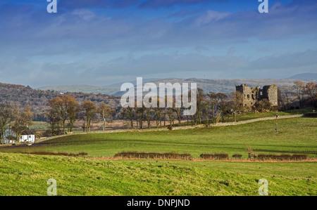 Arnside Tower Landscape - Stock Image