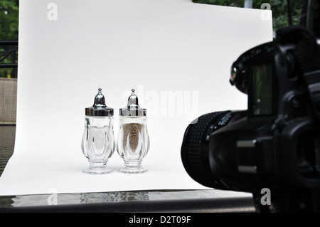 Tabletop photography - Stock Image
