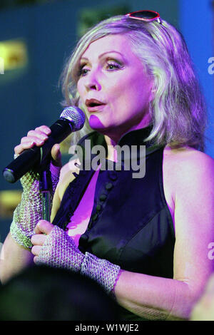 New York, USA. 13 March, 2009. Debbie Harry at the launch of Carrera Vintage Sunglasses at Angel Orensanz Foundation. Credit: Steve Mack/Alamy - Stock Image