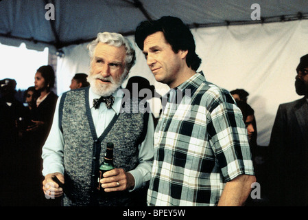 LLOYD BRIDGES & JEFF BRIDGES BLOWN AWAY (1994) - Stock Image