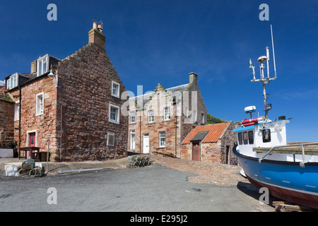 The Fishing Village of Crail in the East Neuk of Fife - Stock Image