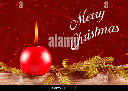 Christmas still life - Stock Image