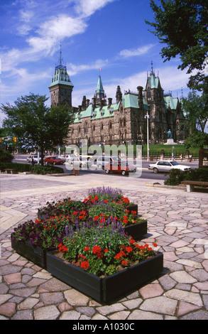 Parliament Buildings Ottawa Canada - Stock Image