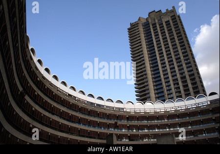 Residential apartments Barbican London - Stock Image