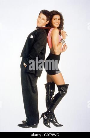 Richard Gere and Julia Roberts / Pretty Woman / 1990 directed by Garry Marshall (Touchstone Pictures / Silver Screen - Stock Image
