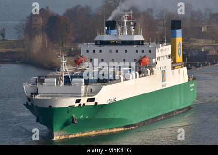 RoRo-vessel Vasaland - Stock Image