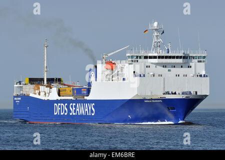 Anglia Seaways - Stock Image
