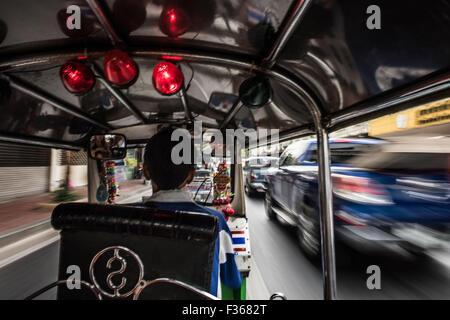 Tuktuk, Bangkok. - Stock Image