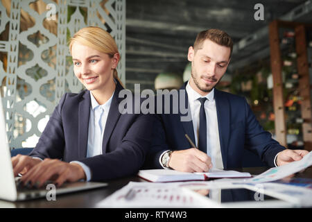 Working individually - Stock Image