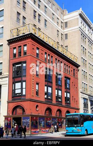 Madame Tussaud's wax museum in Washington DC. - Stock Image