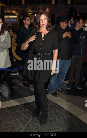 Company - opening VIP night at the Gielgud Theatre, Shaftesbury Avenue, London  Featuring: Samantha Womack Where: London, United Kingdom When: 17 Oct 2018 Credit: WENN.com - Stock Image