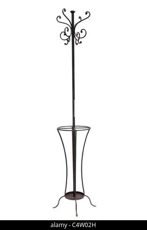classic coat hooks hanger - Stock Image